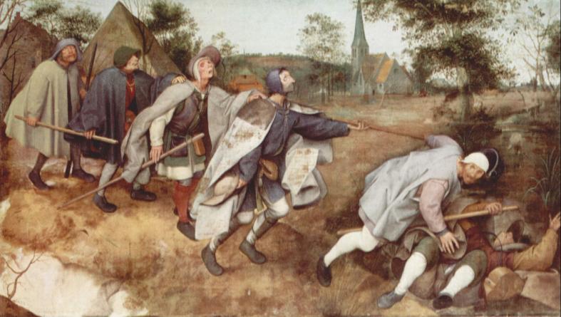 PieterBruegel d.e. De blinde faller 1568